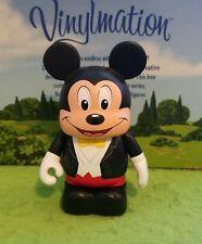 "Disney World Vinylmation Park - 3"" Set 7 Tuxedo Topper Mickey Mouse"