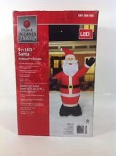 New 9' LED Santa Airblown Christmas Inflatable - Holiday Yard Decor