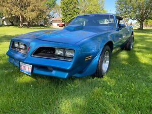 1978 Pontiac Firebird Trans Am trans am