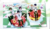 Free! Iwatobi Swim Club cloth poster tapestry Rin Haruka Makoto Rei Nagisa Taito