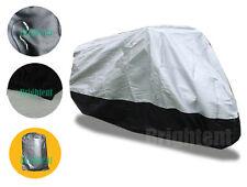 Deluxe Motorcycle Motorbike Cover Heavy Duty Cotton Lined 100% Waterproof BM1HS
