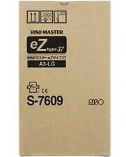 Riso S-7609  Master Rollen eZ type 37 A3-LG   2erPack für EZ370 EZ570  OVP A