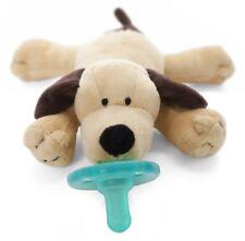 WubbaNub Infant Newborn Baby Soothie Pacifier ~ Brown Puppy