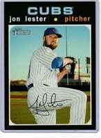 Jon Lester 2020 Topps Heritage 5x7 #486 /49 Cubs