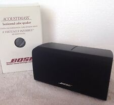 Bose **{NIB}** Center/Horizontal Double Cube Speaker Black Acoustimass Lifestyle