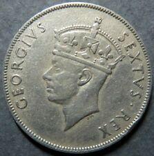 EAST AFRICA,  1950  COLONIAL  1  SHILLING COIN, British Colonial Coin, 7.7 gms