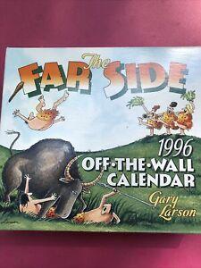 Vtg New The Far Side 1996 Off-the-Wall Calendar Gary Larson NIB Cartoons
