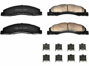 For Ford E350 Super Duty Disc Brake Pad and Hardware Kit Power Stop 62421SB