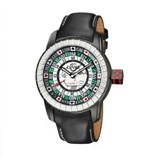 BNIB GEVRIL GV2 LUCKY 7 AUTOMATIC CALFSKIN WATCH LIMITED EDITION OF 500