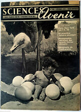 SCIENCES ET AVENIR du 12/1955; Montre atomique/ Paris New York en 1h30