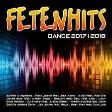 FETENHITS DANCE 2017-2018  ( Avicii, Kay One, Paul, Sean, Imany ) 2 CD NEU