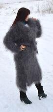 Coat long Goat Down Organic Mohair Angora FETISH cashmere sweater jacket unisex