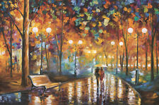 1000 Pieces Adult Puzzle Rainy Night Lovely Couple Jigsaw Educational Toys Gift