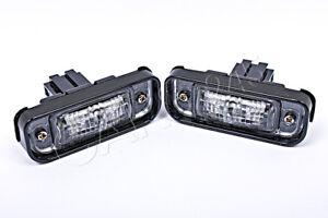 Genuine MERCEDES S-Class W220 1998-2005 License Plate Lights Pair