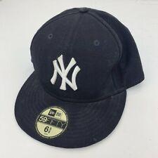 Vintage NEW ERA NY New York Yankees Baseball Navy Cap Size 6 5/8