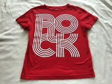 CRAZY 8 ROCK BOYS RED TOP SIZE M(7-8)