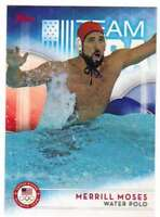 2016 Topps US Olympic Team USA Hopefuls #47 Merrill Moses  Water Polo