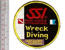SCUBA Diving Scuba Schools International SSI Wreck Diving Specialist Patch