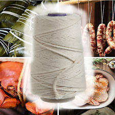 Kitchen 500 FT Butchers Twine Cotton Meat Trussing String Food Safe Oven Cooking