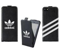 Genuine Original Adidas Black Flip Case Cover for Apple iPhone SE