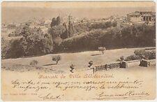 FRASCATI DA VILLA ALDOBRANDINI (ROMA) 1901