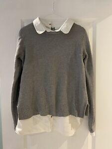 Seraphine Maternity Jumper Shirt Vest Combo - Size Medium