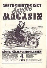 Motorhistoriskt Magasin Annons Swedish Car Magazine 4 1983 Bentley 032717nonDBE