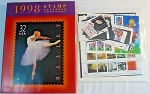 Sealed 1998 Stamp Yearbook USPS Commemorative Souvenir Mint Set with Stamps
