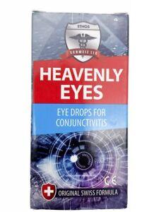 Heavenly Ethos Eye Drops for Eye Irritations and Conjunctivitis 2 x 5ml One Box