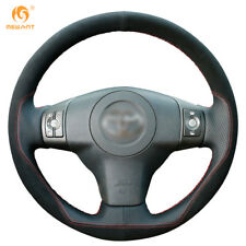 Leather Suede Steering Wheel Cover for Toyota Yaris Vios RAV4 Scion XB #FT31