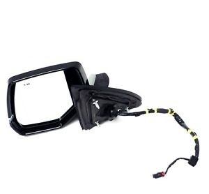 2015-2019 Cadillac Escalade Mirror Driver Side White Abalone Blind Zone Alert