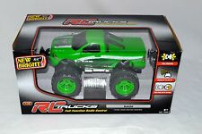 New in Box 1:16 R/C F/F Green Dodge Ram