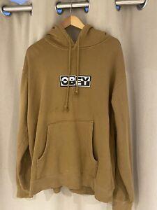 Obey Men's Hoodie L