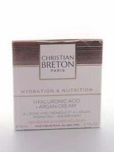 Age Priority by Christian BRETON Hyaluronic Acid + Argan Luxury Face Cream 50ml