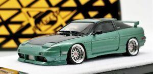 Error 404 1:64 Nissan Silvia 180SX S13 Green