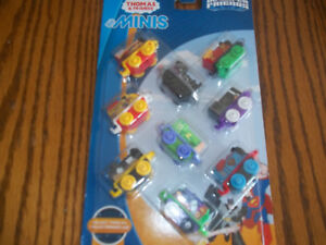 Fisher-Price Thomas & Friends MINIS DC Comics Trains,  9-Pack