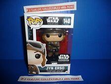 Star Wars Smuggler's Bounty Jyn Erso #148 Funko POP! Figure/Bobblehead New!