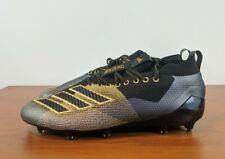 Adidas Adizero 8.0 Football Cleats Black Purple Gold D97650 Size 10.5 - 14