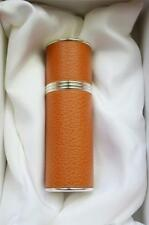 Extraordinarily Rare! Hermes France Equestrian Leather Wrapped OrangeThermos