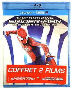 THE AMAZING SPIDER-MAN + LE DESTIN D'UN HEROS / 2 Films / 2 Blu-ray / Neuf
