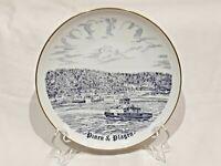 """VTG B&G Pinen & Plagen ~ Bing & Grondahl Memorial 7"""" Porcelain Plate Circa 1972"""
