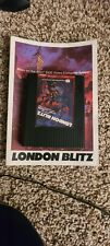 Atari 2600 London Blitz Game and Manual Tested and Works Sears 1983