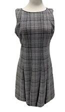 Roz & Ali women's formal dress sleeveless black white size 14