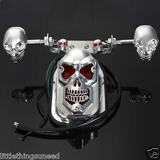 Motorcycle,skull,stop,Taillight,indicators,chop,lowrider,trike,chopper,project