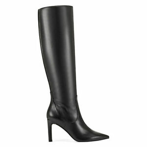 Nine West Womens Maxim Black Tall Knee-High Boots Shoes Pick Size