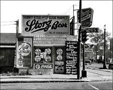 Storz Beer #1 Photo 8X10 - 1938 Omaha Nebraska  B&W