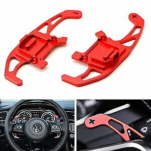 Red Paddle Shifters RACING Type DIRECT Replacement VW GOLF MK7 GTI R 2013-2018