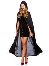 """Halloween Deluxe Nero Unisex Horror Vampiro Costume Mantello con cappuccio Cape 52"""""""