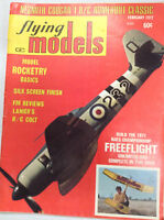 Flying Models Magazine Rocketry Basics Silk Screen February 1972 040917nonrh2