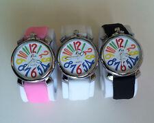 Orologio da Polso Uomo Donna Bracciale Numeri Romani Vintage AFFARE Tre Colori